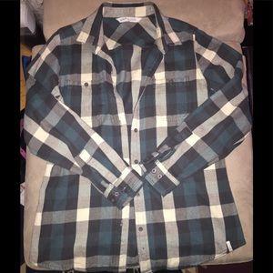 Woolrich flannel top